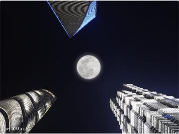 中兴 Axon30 系列超级月亮 Ultra 模式样张公布,同时可拍全焦段照片