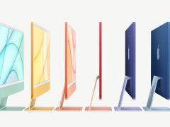 1299 美元起,苹果全新 24 英寸 M1 iMac 发布:4.5K 显示屏,边框更窄更薄