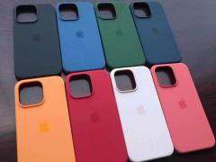 蘋果發布會前夕,iPhone 13/Pro 系列四款機型的官方保護殼曝光:提供粉、藍、綠、紅等配色