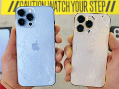苹果 iPhone 13 Pro/Max 跌落测试视频:划痕,屏幕/背面碎裂...